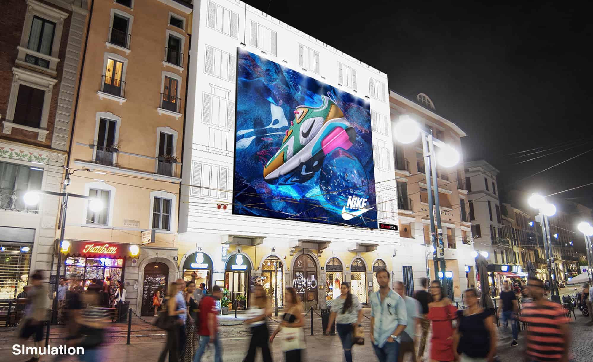 Maxi Affissione Milano Corso Ticinese 16 sport