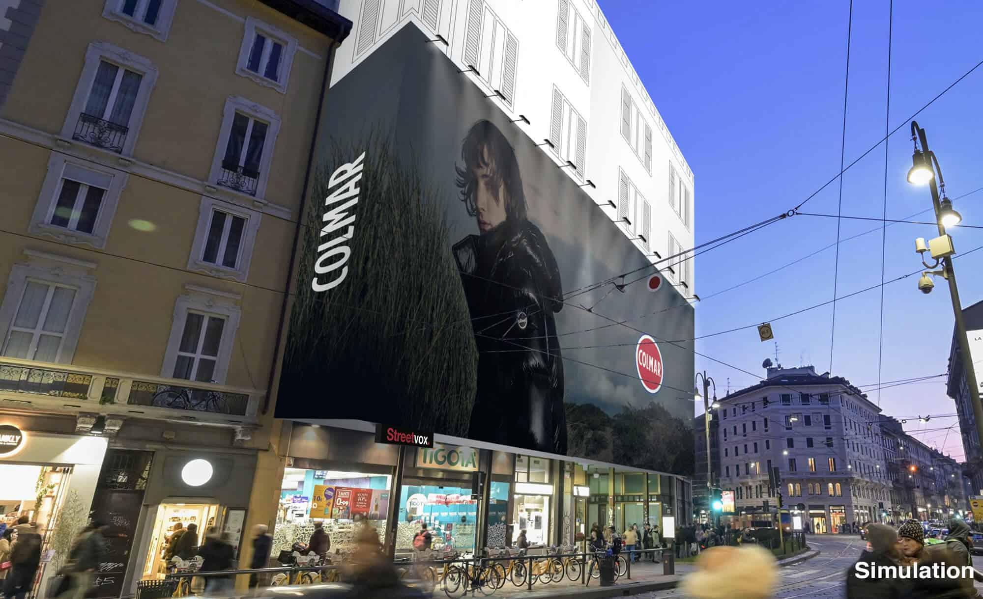 Maxi Affissione Streetvox Milano Stampa 14 Colmar