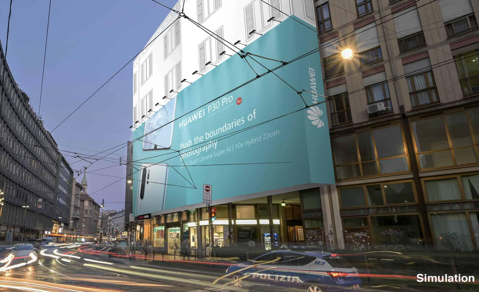Maxi Affissione Streetvox Milano Stampa 14 Tecnologia