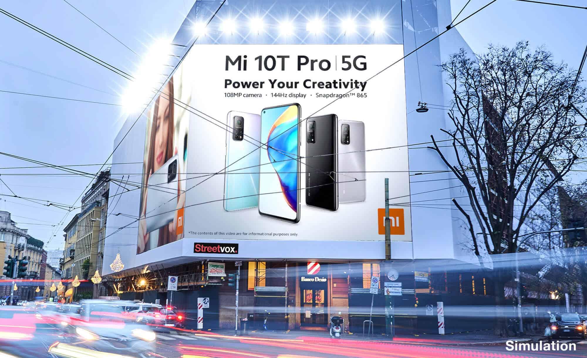 Maxi Affissione a Milano in Corso Magenta 42 con XiaoMi (Technology)